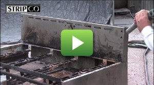 Food Processing Equipment - Baked On Grease