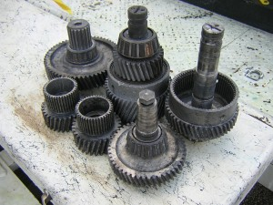 - Grease Removal from Industrial Gears